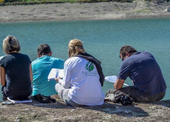 H Κυπριακή ομάδα στο Φράγμα Ευρέτου, WWF Ελλάς / Κ. Παραγκαμιάν