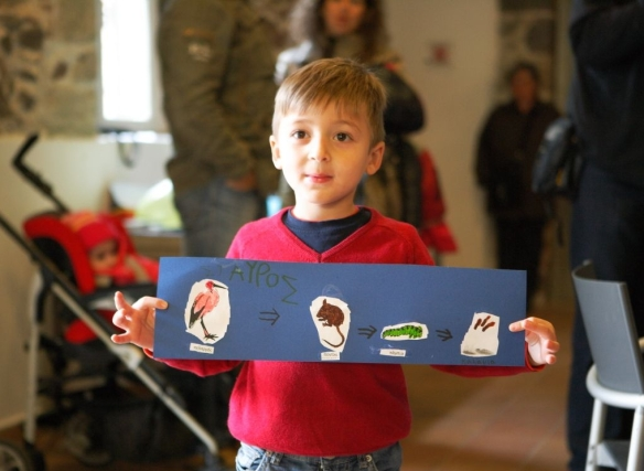 Διδάσκοντας τις τροφικές σχέσεις, φώτο: Δημήτρη Μποστανδάς