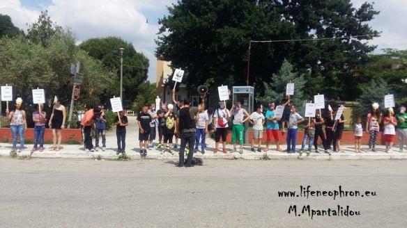 Εικόνα 8. Σάπες: η πόλη όπου διαδηλώνουν Ασπροπάρηδες